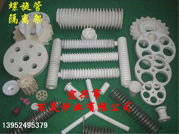 螺旋管及多孔片